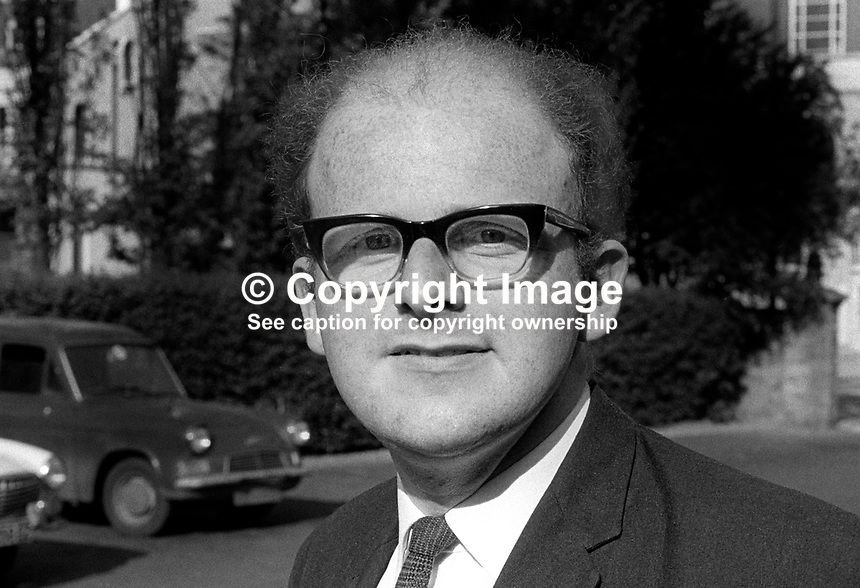 Rodney Smith, candidate, South Antrim, N Ireland, for Liberal Party in UK General Election 18th June 1970. 197006000224a<br /> <br /> Copyright Image from Victor Patterson, 54 Dorchester Park, Belfast, UK, BT9 6RJ<br /> <br /> Tel: +44 28 9066 1296<br /> Mob: +44 7802 353836<br /> Voicemail +44 20 8816 7153<br /> Email: victorpatterson@me.com<br /> Email: victorpatterson@gmail.com<br /> <br /> IMPORTANT: My Terms and Conditions of Business are at www.victorpatterson.com