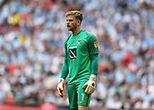 28th May 2018, Wembley Stadium, London, England;  EFL League 2 football, playoff final, Coventry City versus Exeter City; Goalkeeper Lee Burge of Coventry City looking glum as his team fall behind