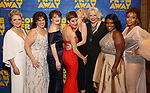 "Kelly Devin with the female cast attend the ""Come From Away"" Broadway Opening Night After Party at Gotham Hall on March 12, 2017 in New York City."