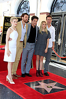 LOS ANGELES - July 26:  Julia Garner, Jason Butler Harner, Jason Bateman, Sofia Hublitz, Chris Mundy at the Jason Bateman Hollywood Walk of Fame Star Ceremony at the Walk of Fame on July 26, 2017 in Hollywood, CA