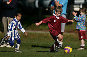 Pukekohe AFC 8th Grade Yellow Giraffes vs Papakura Cougars football game played at Bledisloe Park Pukekohe on Saturday May 17th 2008.
