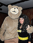 Ted and Elizabeth Hullen pictured at Naomh Fionnbarra fancy dress party in the Grove hotel Dunleer. Photo:Colin Bell/pressphotos.ie