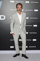 HOLLYWOOD, CA - SEPTEMBER 28: Steven Ogg at the premiere of HBO's 'Westworld' at TCL Chinese Theatre on September 28, 2016 in Hollywood, California. Credit: David Edwards/MediaPunch