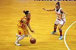 Catalunya vs Montenegro: 83-57.<br /> Nuria Martinez vs Snezana Aleksic.