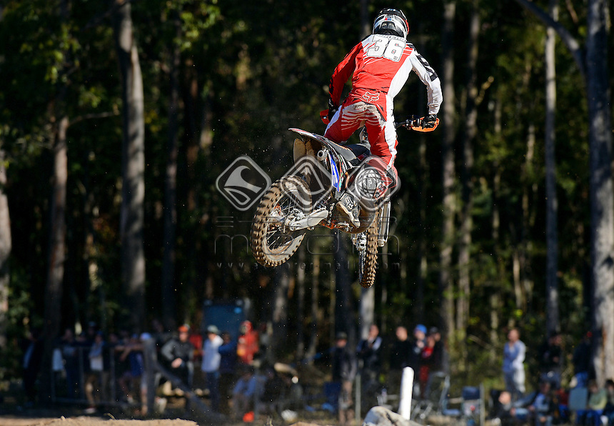 Jayden Rykers / KTM<br /> MX Nationals / Round 6 / MXD<br /> Australian Motocross Championships<br /> Raymond Terrace NSW<br /> Sunday 5 July 2015<br /> &copy; Sport the library / Jeff Crow