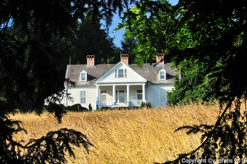 Carl Sandberg's home in Flat Rock, N.C. It is the only National Historic Site dedicated to a poet.