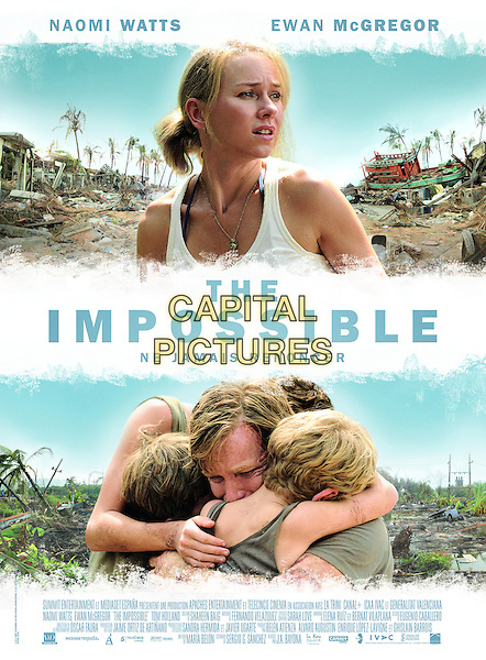 FRENCH POSTER ART<br /> in The Impossible (2012) <br /> *Filmstill - Editorial Use Only*<br /> CAP/NFS<br /> Image supplied by Capital Pictures