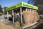 Garden Design advice booth on Notcutts garden centre, Woodbridge, Suffolk, England