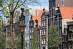 Monumentale Häuser an der Herengracht, Amsterdam