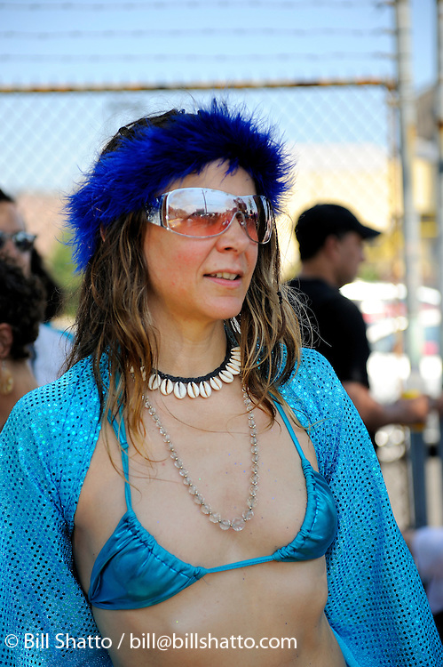 Mermaid Parade, Coney Island, Brooklyn, New York, June 21, 2008.