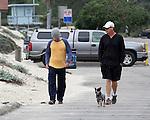 December 12th 2012   Exclusive <br /> <br /> <br /> Owen Wilson walking his dog with a friend at the beach in Malibu California . Wearing a yellow shirt &amp; gray beanie hat <br /> <br /> <br /> AbilityFilms@yahoo.com<br /> 805-427-3519<br /> www.AbilityFilms.com