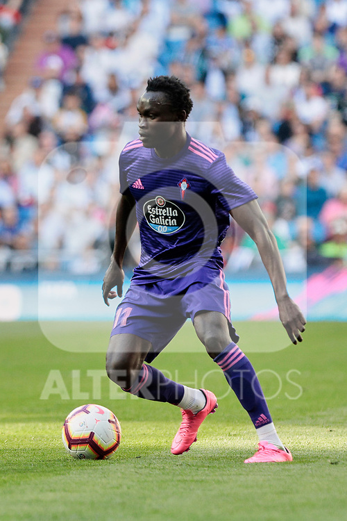 Real Club Celta de Vigo's Pione Sisto during La Liga match between Real Madrid and Real Club Celta de Vigo at Santiago Bernabeu Stadium in Madrid, Spain. March 16, 2019. (ALTERPHOTOS/A. Perez Meca)