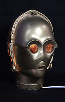 BNPS.co.uk (01202 558833)<br /> AdamPartridge/BNPS<br /> <br /> Star Wars - a model C-3PO head now used as a lamp.<br /> <br /> A vast collection of 'weird and wonderful' memorabilia from a music venue that hosted early Beatles gigs has emerged for sale for close to £50,000.<br /> <br /> Lathom Hall in Liverpool was one of the best known clubs on the Merseybeat music scene in the late 1950s and early 1960s.<br /> <br /> Among their regular bands were the Beatles, although at that time they were known as the Silver Beets.<br /> <br /> Since those days the hall has adapted and is now an entertainment venue crammed full of pop culture memorabilia.