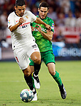 "Sevilla FC's Manuel Agudo ""Nolito"" and Real Sociedad's Igor Zubeldia during La Liga match. Sep 29, 2019. (ALTERPHOTOS/Manu R.B.)"