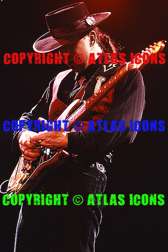 Stevie Ray Vaughan: Live: New York City: On November 1, 1989:.Photo Credit: Eddie Malluk/Atlas Icons.com