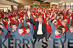 Holy Cross Mercy National School has become the first school in Kerry to raise an active flag in their school. A special celebration was held at the school last week to mark this important achievement and Miche?al O' Muircheartaigh was on hand to celebrate the occasion with the students and teachers.