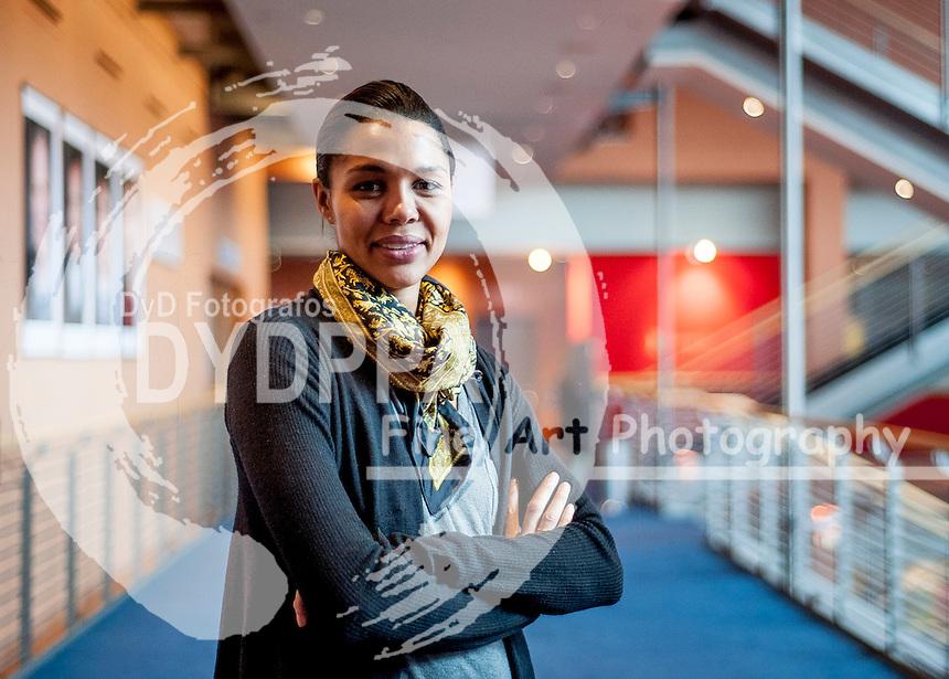 Singer Ayo interview in a Berlinale international film festival at Potsdamer Straße in Berlin on February 11, 2015. Photo by Samuel de Roman / Photocall3000 / Dyd fotografos-DYDPPA.