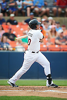 Frederick Keys third baseman Jomar Reyes (30) at bat during a game against the Carolina Mudcats on June 4, 2016 at Nymeo Field at Harry Grove Stadium in Frederick, Maryland.  Frederick defeated Carolina 5-4 in eleven innings.  (Mike Janes/Four Seam Images)