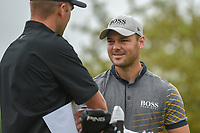 Martin Kaymer (GER) chats on the tee on 10 during day 3 of the Valero Texas Open, at the TPC San Antonio Oaks Course, San Antonio, Texas, USA. 4/6/2019.<br /> Picture: Golffile | Ken Murray<br /> <br /> <br /> All photo usage must carry mandatory copyright credit (&copy; Golffile | Ken Murray)