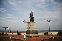 Statue of Marquis Duplex (the French Govornor) in Pondicherry. Arindam Mukherjee.