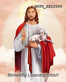 Alfredo, EASTER RELIGIOUS, OSTERN RELIGIÖS, PASCUA RELIGIOSA, paintings+++++,BRTOXX12586,#er#, EVERYDAY