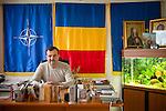 Valentin Vrabie, mayor of Pe?tera, Romania.