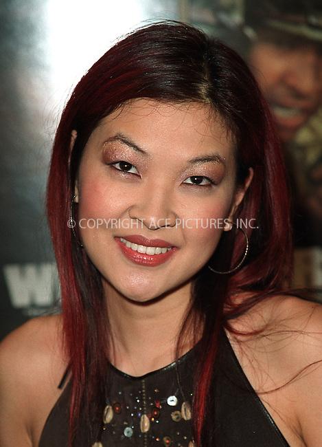 "MTV's VJ Su Chin Pak arrives at the New York premiere of ""Windtalkers."" New York, June 6, 2002. Please byline: Alecsey Boldeskul/NY Photo Press.   ..*PAY-PER-USE*      ....NY Photo Press:  ..phone (646) 267-6913;   ..e-mail: info@nyphotopress.com"