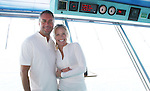 Mike Gold and Beth Chamberlin -  Day 5 - Aug 3, 2010 - So Long Springfield at Sea - A Final Farewell To Guiding Light sets sail from NYC to St. John, New Brunwsick and Halifax, Nova Scotia from July 31 to August 5, 2010  aboard Carnival's Glory (Photos by Sue Coflin/Max Photos)