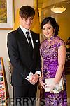 Enjoying the Gaelcholáiste Chiarraí Debs ball at the Brandon Hotel on Saturday were Ri Galway and Victoria Keane