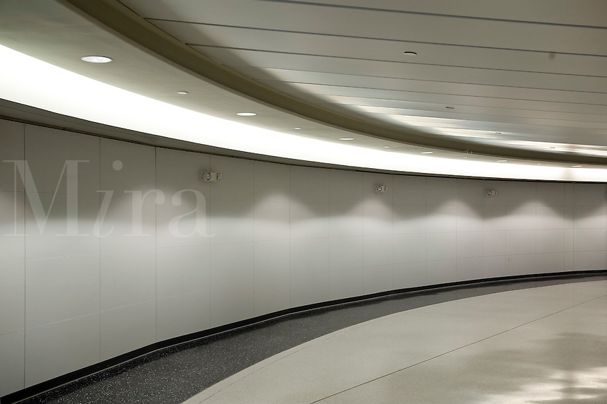 Contemporary interior space.