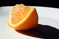 Orange Slice in Sunlight
