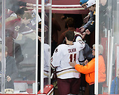 Chris Calnan (BC - 11), Mary - The Boston College Eagles defeated the University of Vermont Catamounts 7-4 on Saturday, March 11, 2017, at Kelley Rink to sweep their Hockey East quarterfinal series.The Boston College Eagles defeated the University of Vermont Catamounts 7-4 on Saturday, March 11, 2017, at Kelley Rink to sweep their Hockey East quarterfinal series.
