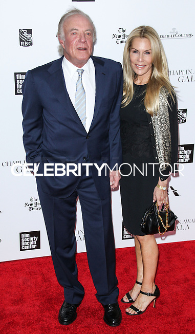 NEW YORK CITY, NY, USA - APRIL 28: James Caan, Linda Stokes at the 41st Annual Chaplin Award Gala held at Avery Fisher Hall at Lincoln Center for the Performing Arts on April 28, 2014 in New York City, New York, United States. (Photo by Jeffery Duran/Celebrity Monitor)