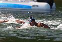 Yasunari Hirai (JPN), ..AUGUST 13, 2011 - Swimming : ..The 26th Summer Universiade 2011 Shenzhen ..Men's 10km Open Water ..at NSeven Star Bay, Shenzhen, China. ..(Photo by YUTAKA/AFLO SPORT) [1040]