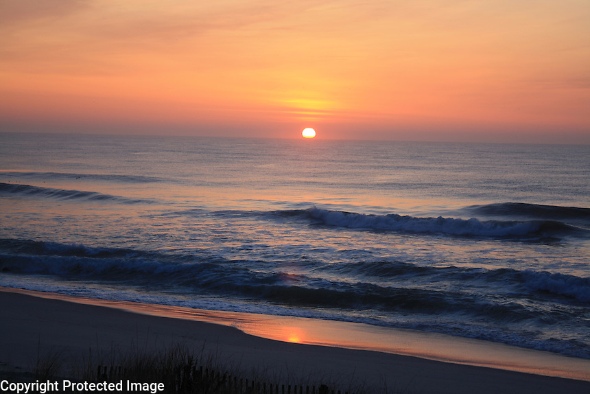 Ocean Sunrise, Long Beach Iseland, New Jersey