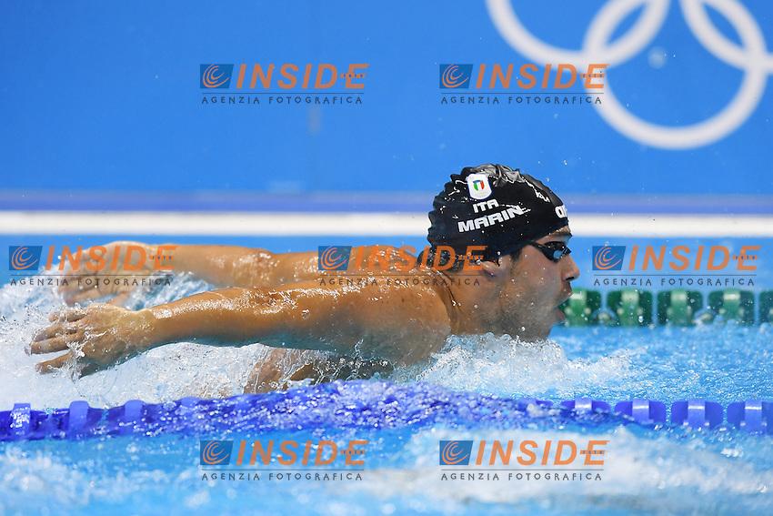 MARIN Luca ITA <br /> Men's 400m Individual Medley <br /> Rio de Janeiro 06-08-2016 Olympic Aquatics Stadium <br /> Swimming Nuoto <br /> Foto Andrea Staccioli/Deepbluemedia/Insidefoto