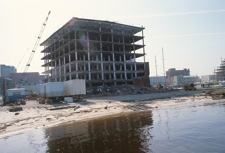 1983 April 27..Redevelopment.Downtown West (A-1-6)..CONSTRUCTION PROGRESS VIEWS.BOUSH COLD STORAGE.HARBOR PLACE CONDOS...NEG#.NRHA#..