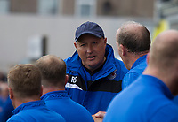 Russell Slade (manager of Grimsby Town) during Grimsby Town vs Coventry City, Sky Bet EFL League 2 Football at Blundell Park on 12th August 2017