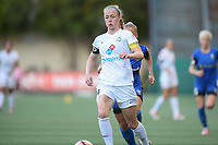 Seattle, WA - Friday June 23, 2017: Becky Sauerbrunn during a regular season National Women's Soccer League  (NWSL) match between the Seattle Reign FC and FC Kansas City at Memorial Stadium.