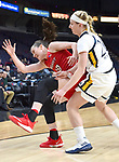 Quinnipiac defeats Marist 67-58 in the championship game of the MAAC tournament on March 05, 2018 at the Times Union Center in Albany, New York.  (Bob Mayberger/Eclipse Sportswire)