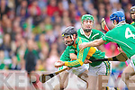 Paud Costelloe David Grady Ballyduff v Paul Galvin Lixnaw in the Senior County Hurling final at Austin Stack park on Sunday.
