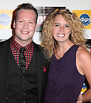 Keven Quillon & Kacie Sheik attending the Broadway Opening Night Performance After Party for 'Annie' at the Hard Rock Cafe in New York City on 11/08/2012
