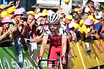 Tony Martin (GER) Team Katusha Alpecin crosses the finish line at the end of Stage 15 of the 104th edition of the Tour de France 2017, running 189.5km from Laissac-Severac l'Eglise to Le Puy-en-Velay, France. 16th July 2017.<br /> Picture: ASO/Pauline Ballet | Cyclefile<br /> <br /> <br /> All photos usage must carry mandatory copyright credit (&copy; Cyclefile | ASO/Pauline Ballet)