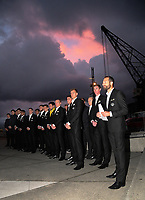 Wellington Phoenix season launch at Wharewaka in Wellington, New Zealand on Thursday, 10 August 2017. Photo: Dave Lintott / lintottphoto.co.nz