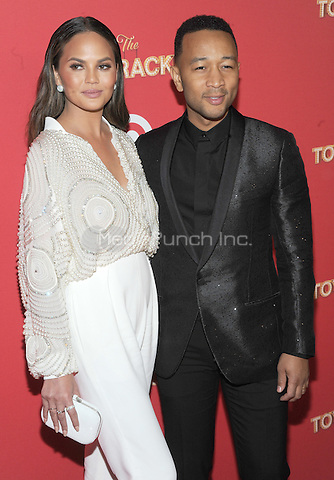 NEW YORK, NY - DECEMBER 07: Chrissy Teigen and John Legend attends Target Presents 'The Toycracker' Premiere Event at Spring Studios on December 7, 2016 in New York City.Photo by John Palmer/MediaPunch