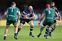 Matt Garvey of Bath Rugby in possession. Aviva Premiership match, between Bath Rugby and London Irish on May 5, 2018 at the Recreation Ground in Bath, England. Photo by: Patrick Khachfe / Onside Images