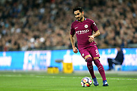 Ilkay Gundogan of Manchester City during Tottenham Hotspur vs Manchester City, Premier League Football at Wembley Stadium on 14th April 2018