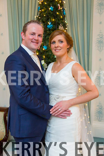 Noreen Teahan, Firies, Daughter of Con and Mary Teahan, and Padraig Lynch, Killarney, son of Denis and Joan Lynch, were married at St. Gertrude's Church, Firies on Saturday 6th December 2014 with a reception at Ballyseede Castle