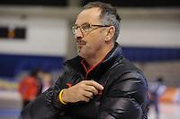 SCHAATSEN: CALGARY: Olympic Oval, 09-11-2013, Essent ISU World Cup, Siep Hoekstra (trainer/coach CHN), ©foto Martin de Jong