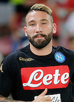 Lorenzo Tonelli  during the friendly soccer match,between SSC Napoli and Onc Nice      at  the San  Paolo   stadium in Naples  Italy , August 01, 2016<br />  during the friendly soccer match,between SSC Napoli and Onc Nice      at  the San  Paolo   stadium in Naples  Italy , August 02, 2016